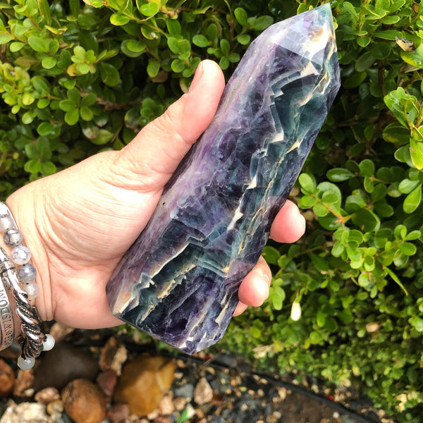 6.5 inch Flourite Tower