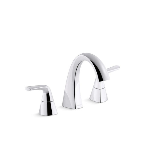 Faucet, bathroom, Elmbrook 8 in. Widespread 2-Handle Bathroom Faucet. Multiple finish options