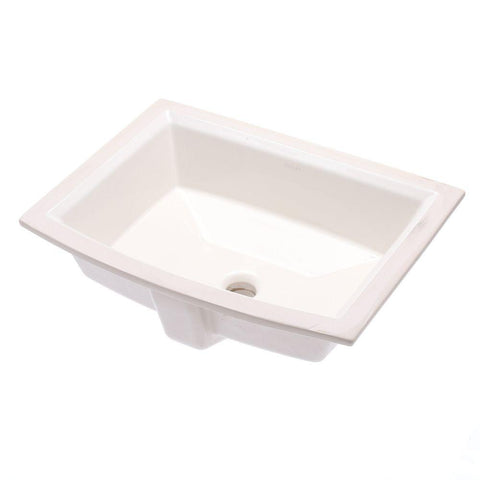 Sink, Bathroom, Archer Vitreous China Under mount with Overflow Drain