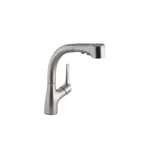 Kitchen faucet, Elate Single-Handle Pull-Out Sprayer Kitchen Faucet 13963-VS In Vibrant Stainless