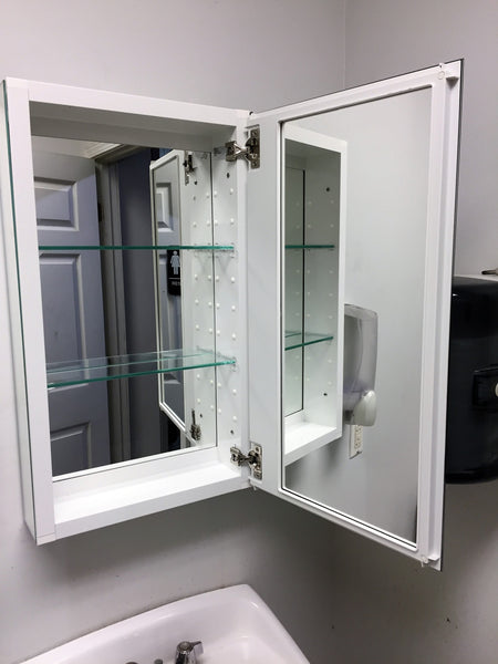 BATHROOM MIRRORED MEDICINE CABINETS BY KOHLER $20 EACH - flush mount or recess