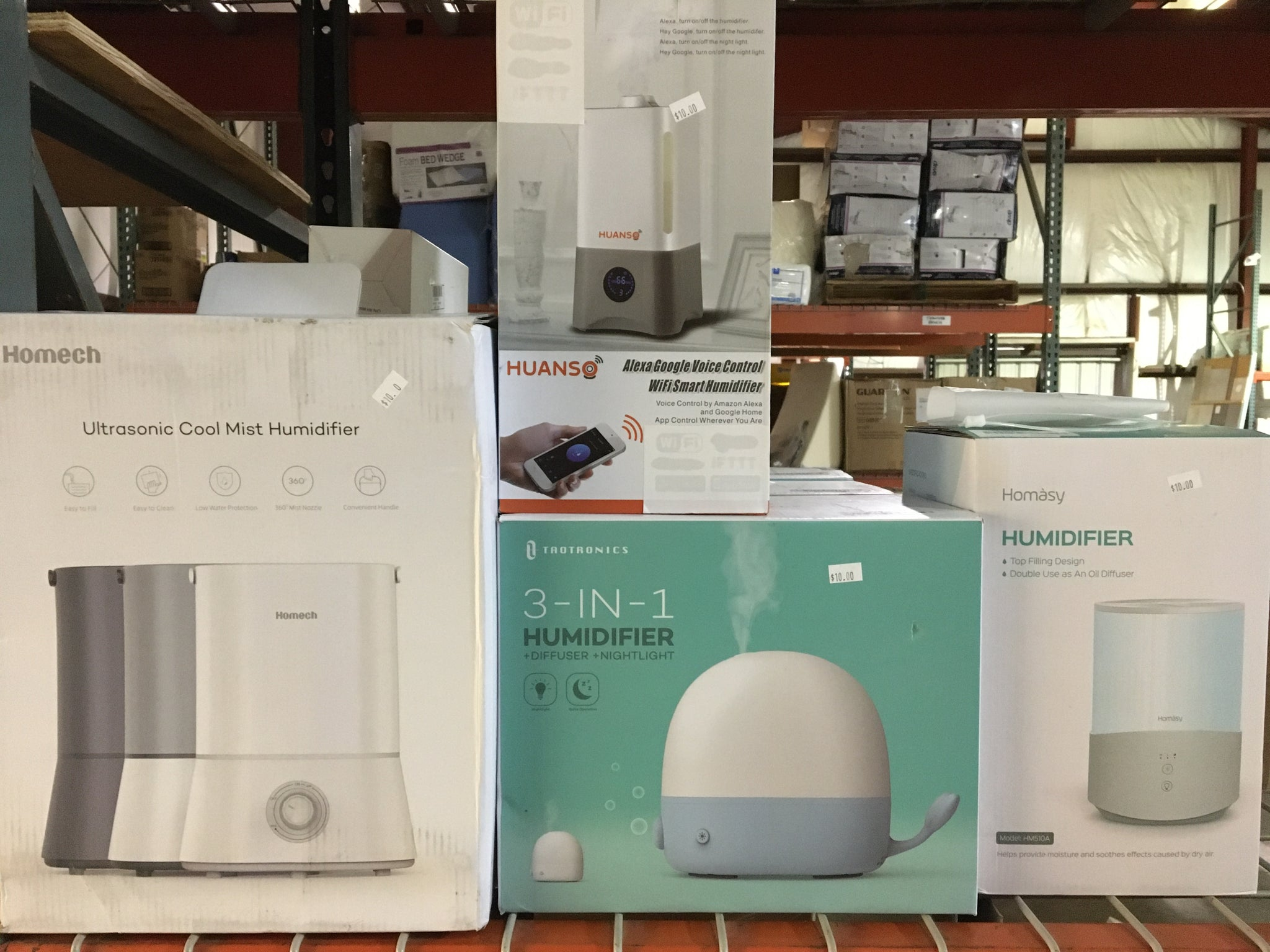 Humidifiers - small varieties