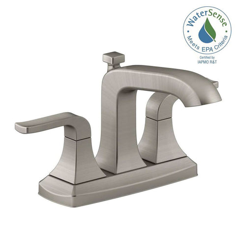 Bathroom Faucet, 2-Handle, 4 in, Rubicon 1001-637-556