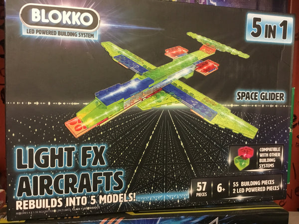 Toys for Tots Blokko LED building kits