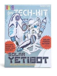 Toys for Tots - Box of DIY Solar Yetibot