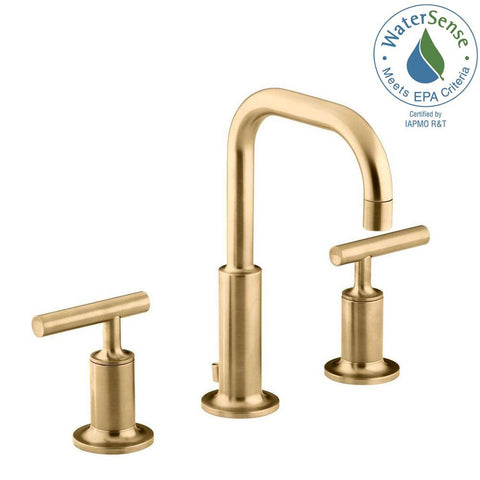 Bathroom Faucet, Purist, 8 in, 2 Handle