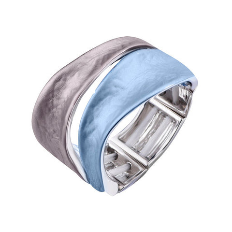 Two Tone Free Size Ring