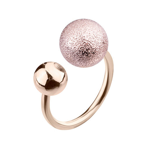 Pink Gold Elastic Cosmic Ring