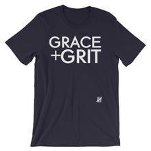 """Grace + Grit"" Unisex short sleeve t-shirt"