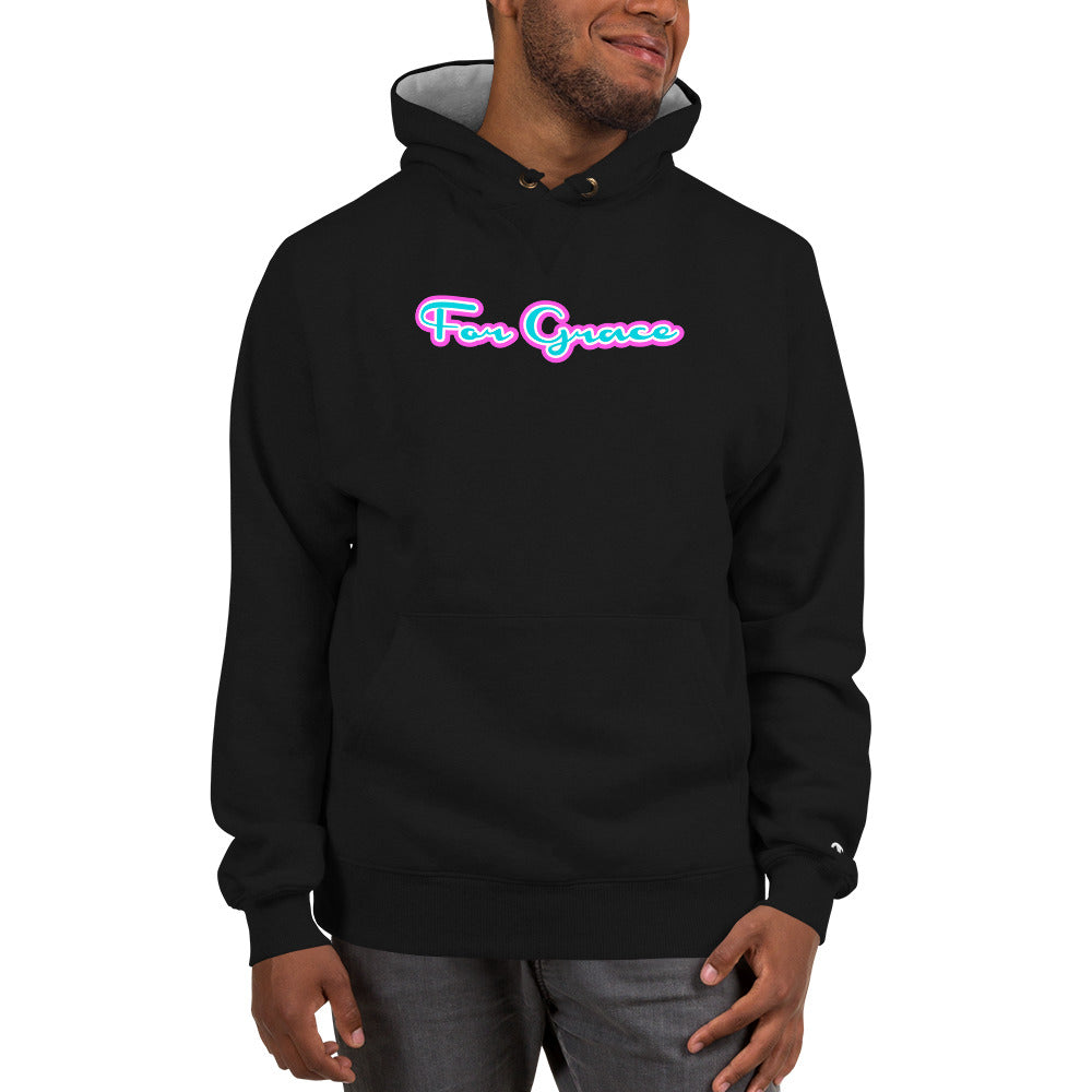 For Grace Signature Champion Hoodie - Miami Nights Colorway