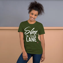 Slay in Your Lane -Multiple Colors Unisex Short Sleeve Jersey T-Shirt