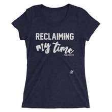 """Reclaiming my Time"" Ladies' short sleeve t-shirt"