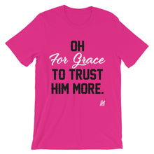 """For Grace Signature Tee"" Unisex short sleeve t-shirt"
