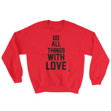"""With Love"" Unisex Sweatshirt"