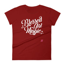 """Blessed Girl Magic"" Women's short sleeve t-shirt"