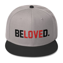 """BeLoved"" Wool Blend Snapback"