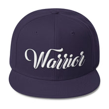 """Warrior"" Wool Blend Snapback"