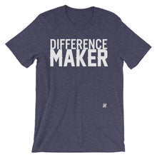 """Difference Maker"" Unisex short sleeve t-shirt"