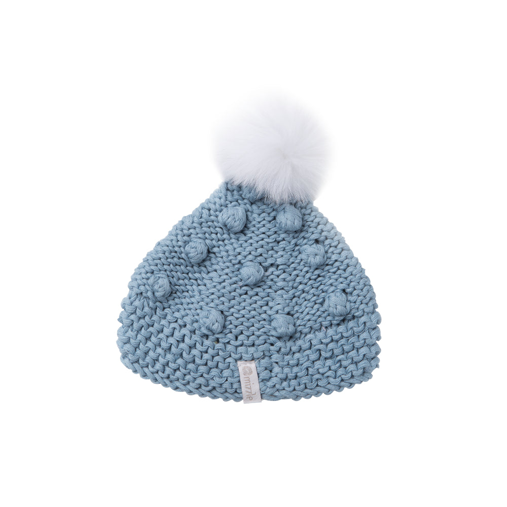 Popcorn Beanie - Blue | Mizzle Baby & Children's Clothing