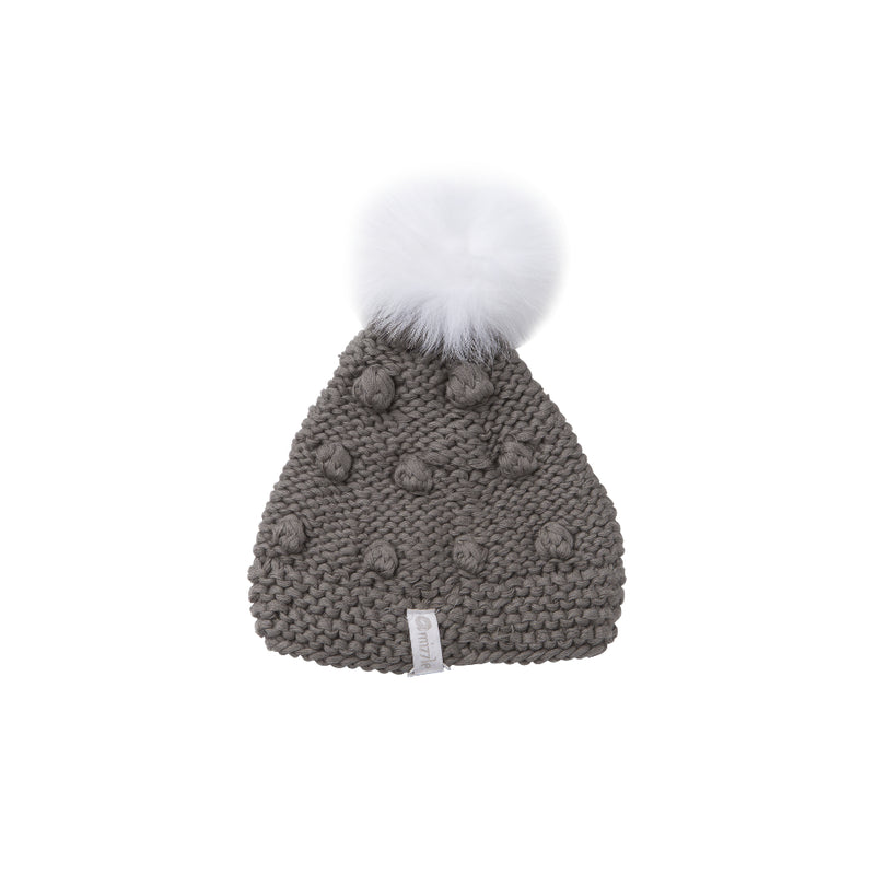 Popcorn Beanie - Charcoal Grey | Mizzle Baby & Children's Clothing