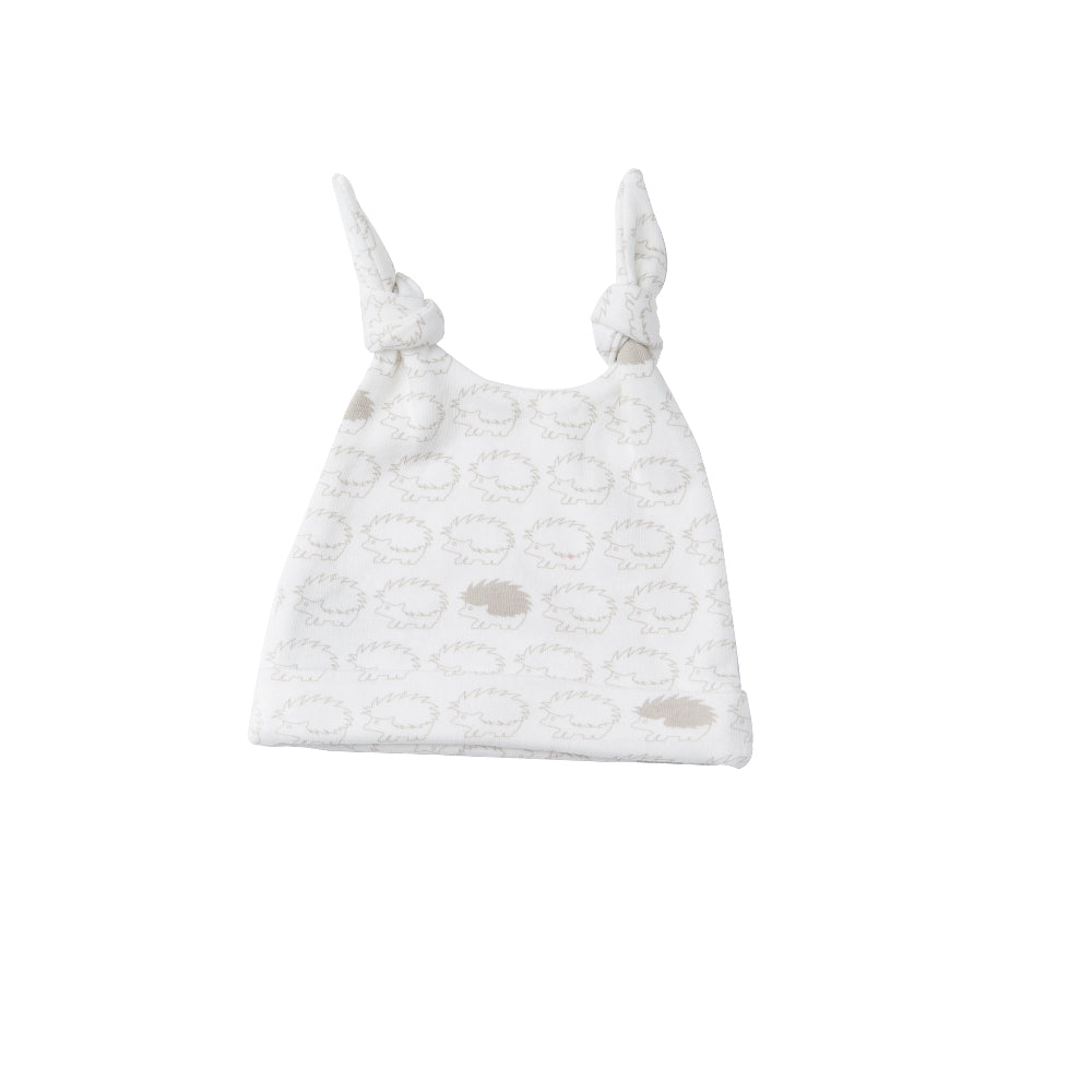 Double Knotted Hat - Henley Hedgehog | Mizzle Baby & Children's Clothing