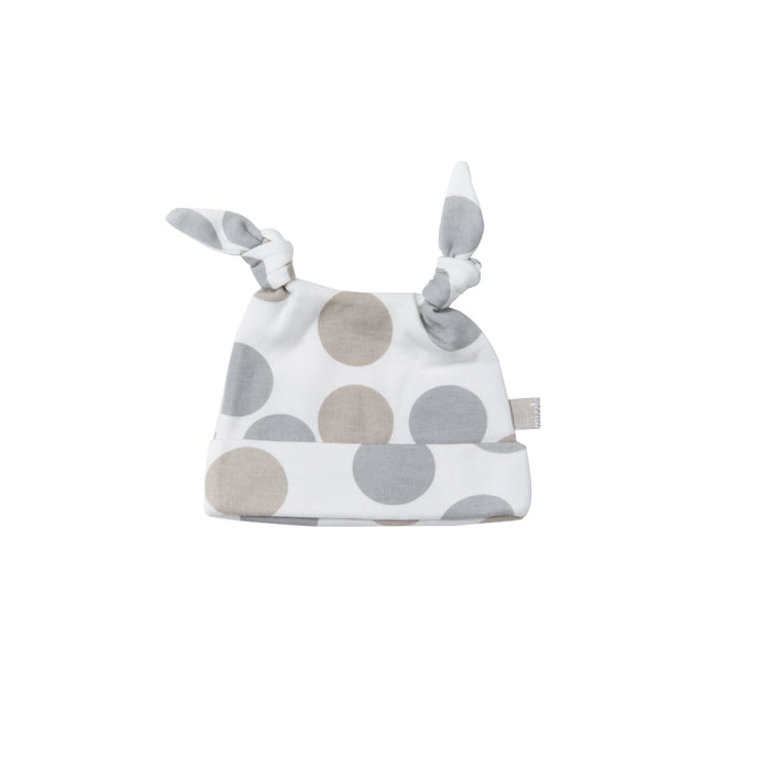 Double Knotted Hat - Polkadot | Mizzle Baby & Children's Clothing