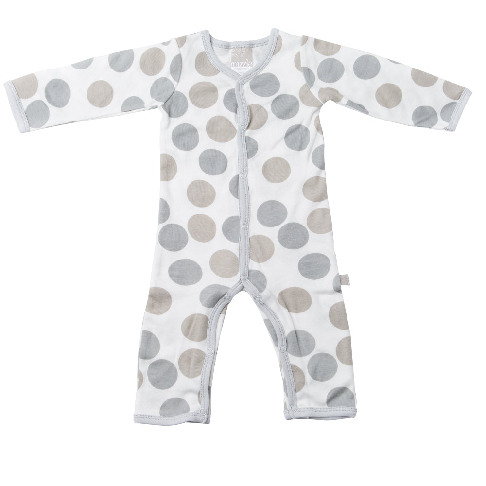 Feet Out Romper - Polkadots | Mizzle Baby & Children's Clothing