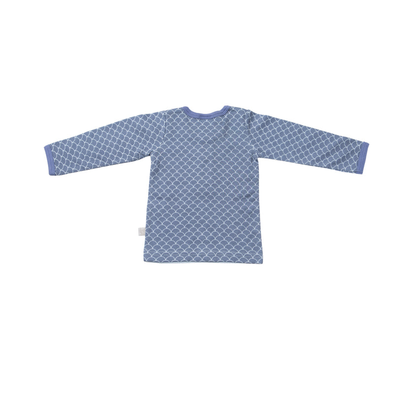 Long Sleeve T-Shirt - Fish Scale | Mizzle Baby & Children's Clothing