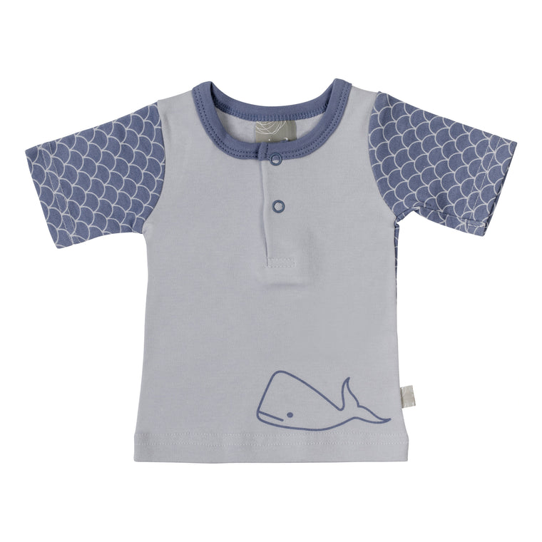 T-Shirt - Willa Whale / Fish Scale