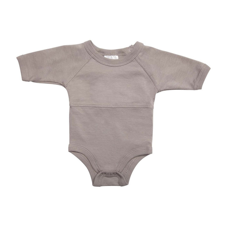 Onesie Long Sleeve - Soft Grey