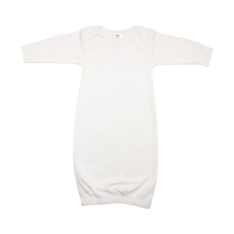 Newborn Nightie - White