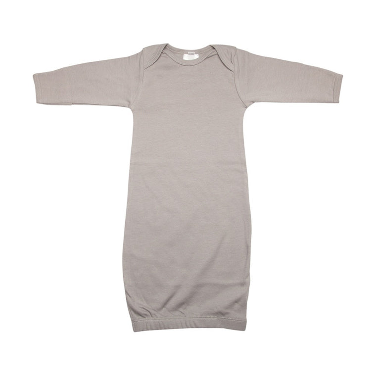 Newborn Nightie - Soft Grey