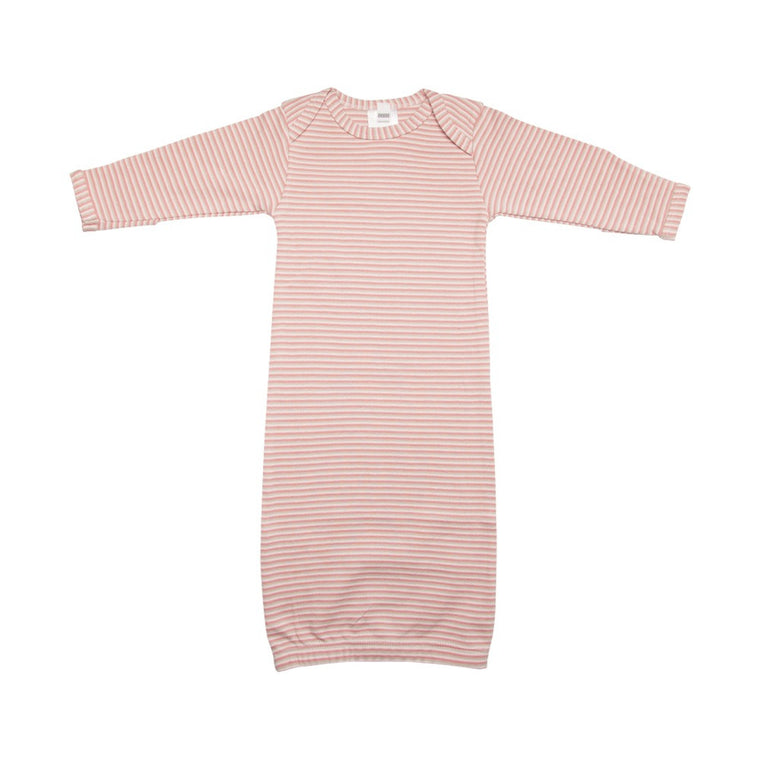 Newborn Nightie - Pink Stripes
