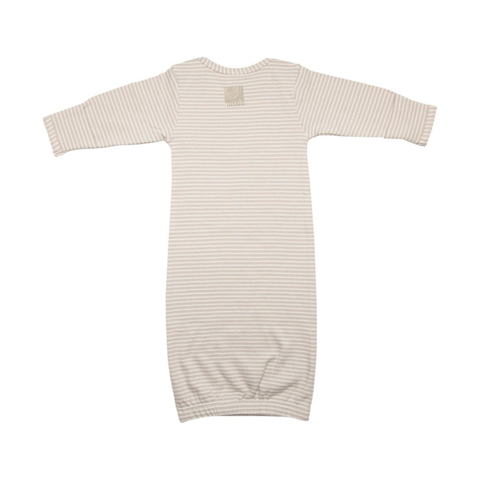 Newborn Nightie - Neutral Stripes | Mizzle Baby & Children's Clothing