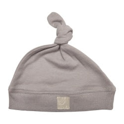 Single Knotted Hat - Soft Grey