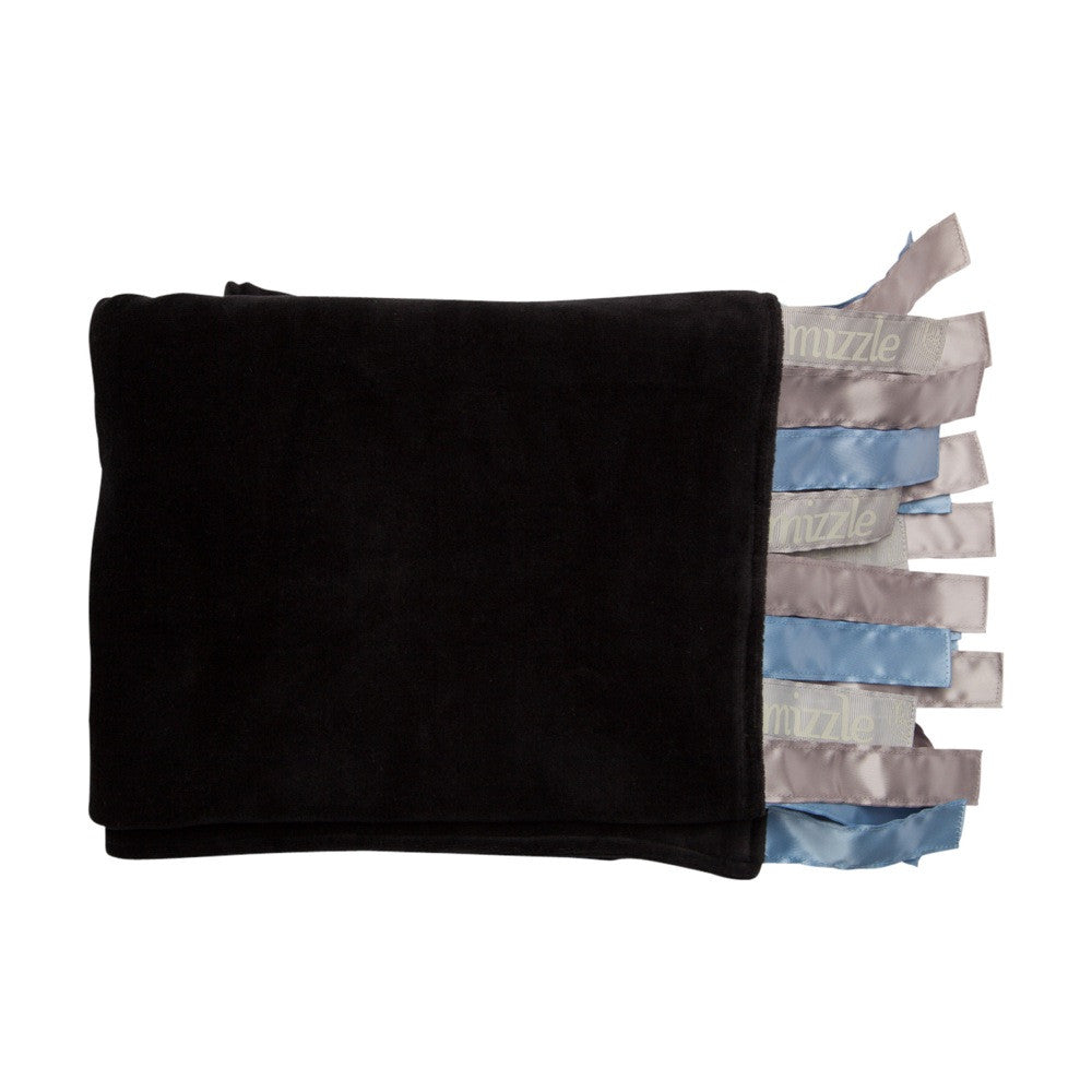 Giggi Sensory Blanket - Blue Ribbons | Mizzle Baby & Children's Clothing