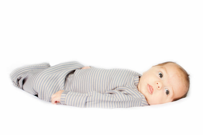 Newborn Nightie - Soft Grey | Mizzle Baby & Children's Clothing