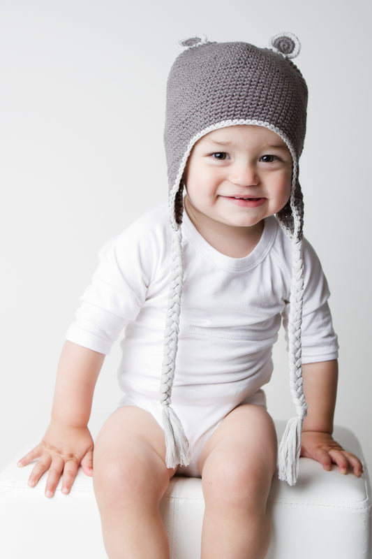 Onesie Long Sleeve - White | Mizzle Baby & Children's Clothing