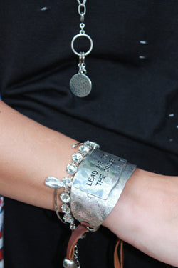 Lead Me to the Cross Bracelet
