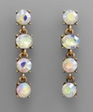Alexandria Aurora Borealis Dangle Drop Earrings