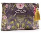 Grow Large Tassel Clutch