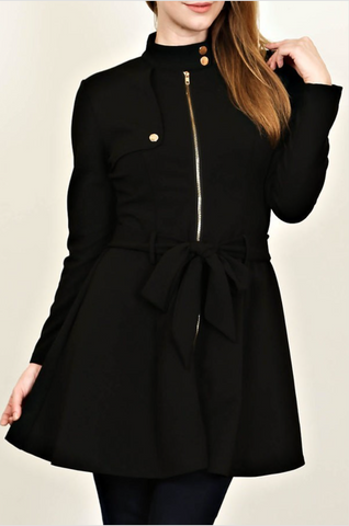 Black Sophisticate Dress Jacket