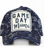 Game Day Mama Baseball Cap- Navy