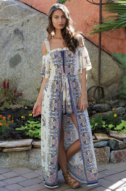 """The Gwyneth"" Maxi Romper"