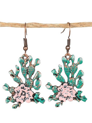 Cactus Bloom Earrings