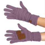CC Suede Palm Touch Screen Gloves