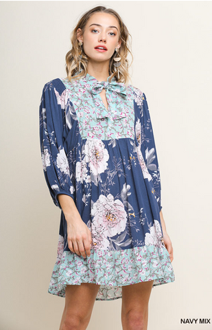 Darling Blue Boho Dress