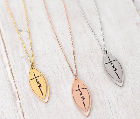 Harlow Faith Necklace