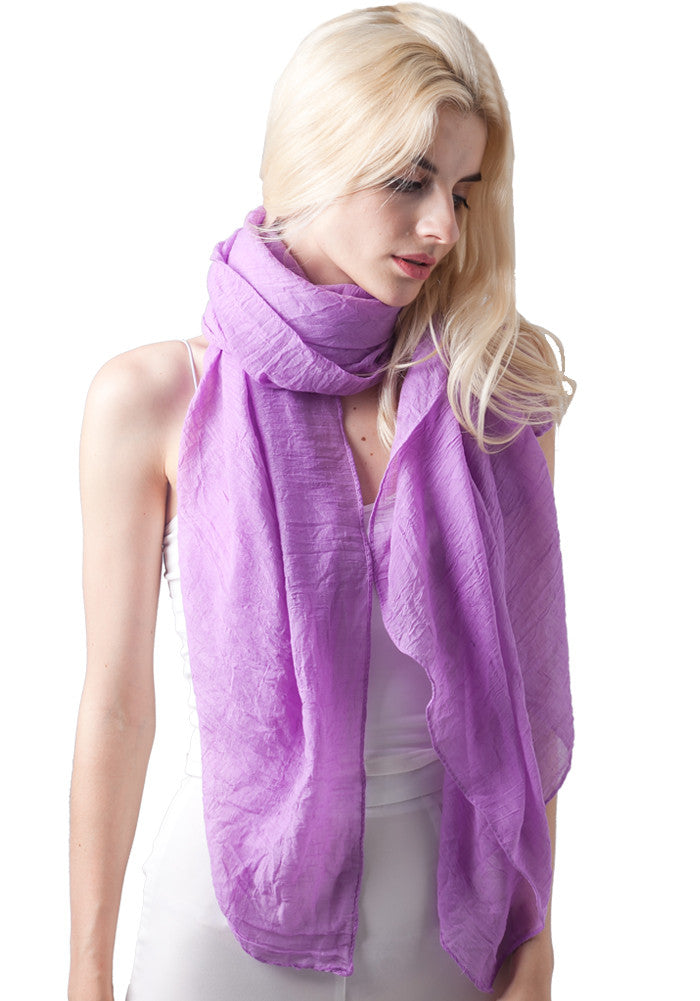 d8f804456e78e Womens Long Scarf in Solid Color Large Sheer Shawl Wraps for Evening ( –  Miss-shorthair