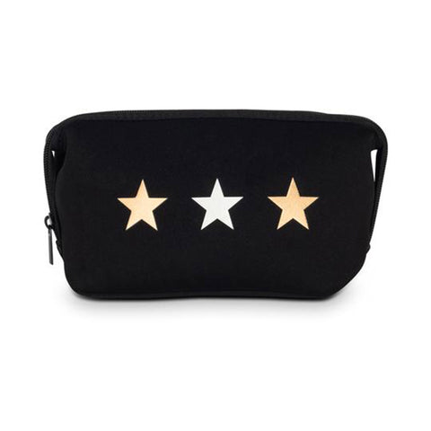 Haute Shore Erin Tri Star Cosmetic Case. This chic and durable Haute Shore Erin Tri Star Cosmetic Case holds all the makeup essentials! Perfect for everyday use, and can be thrown into any bag for on-the-go necessities.